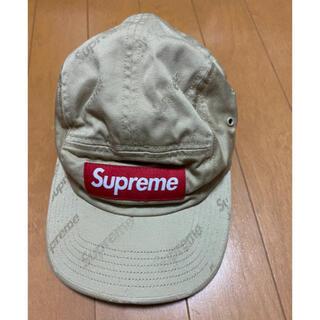 Supreme - supreme キャンプ帽子