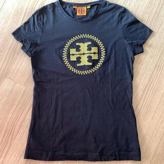 トリーバーチ(Tory Burch)のトリーバーチ ロゴ Tシャツ ブラック XS(Tシャツ(半袖/袖なし))