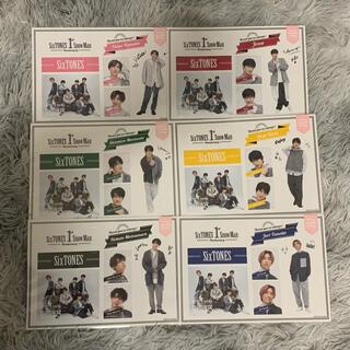 ジャニーズ(Johnny's)のSixTONES 1st Anniversary ステッカーセット(アイドルグッズ)