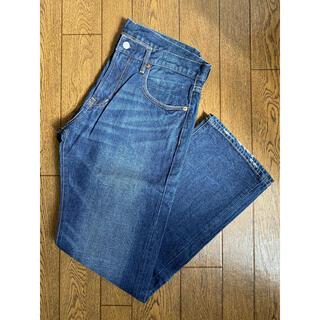 GU - 【GU】メンズデニムジーンズパンツ 34インチ
