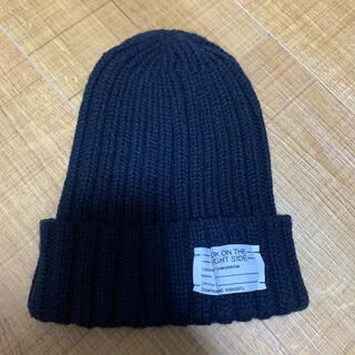 ジーユー(GU)のニット帽 ニットキャップ(ニット帽/ビーニー)