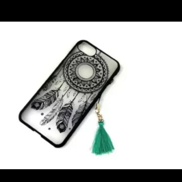 ドリームキャッチャー iPhoneケース 人気 可愛い 58794 スマホ/家電/カメラのスマホアクセサリー(iPhoneケース)の商品写真