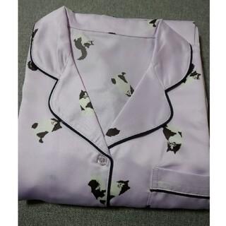 サテンパジャマ 長袖 キャット