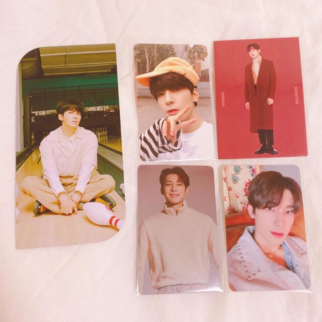 SEVENTEEN(セブンティーン)のSEVENTEEN トレカ ブクマ ウォヌ 5枚セット エンタメ/ホビーのCD(K-POP/アジア)の商品写真