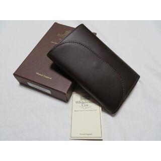 WHITEHOUSE COX - ■新品【ホワイトハウスコックス】極上3つ折り財布 S7660 茶×ECRU レザ