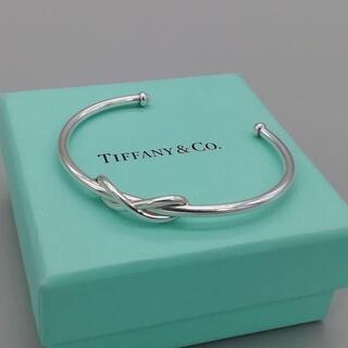Tiffany & Co. - 美品 ティファニー インフィニティ シルバー バングル
