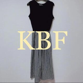ケービーエフ(KBF)のKBF / ドッキングワンピース(ロングワンピース/マキシワンピース)