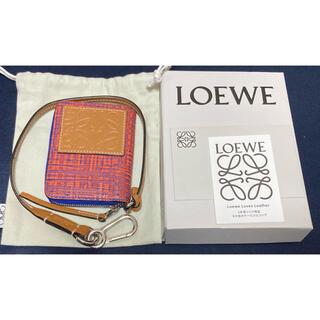 LOEWE - loewe  ロエベ カードウォレット レザーストラップ付