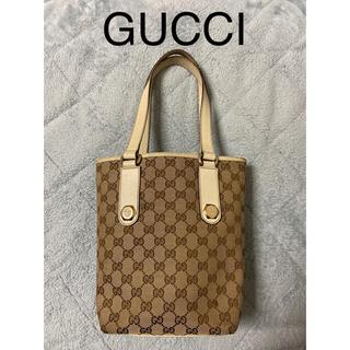 グッチ(Gucci)の【再値下げ】GUCCI  GGキャンバストートバッグ【早い物勝ち】(トートバッグ)