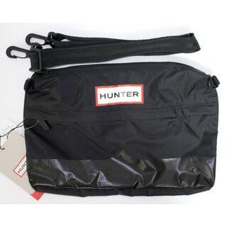 ハンター(HUNTER)の定価5500 新品 本物 HUNTER ブラック サイドバッグ 2016(ショルダーバッグ)