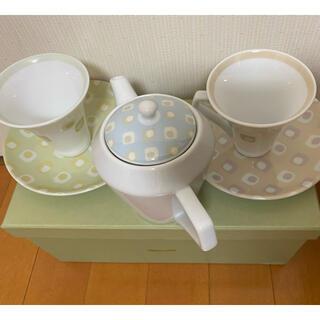 カンサイヤマモト(Kansai Yamamoto)の新品未使用箱付 山本寛斎kansai fine china食器ティーカップ(食器)