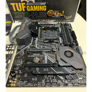 ASUS - ASUS TUF GAMING X570-PLUS ジャンク品
