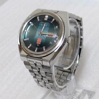 セイコー(SEIKO)のSEIKO ELNIX  0703-6020 電磁テンプ式グリーン(腕時計(アナログ))