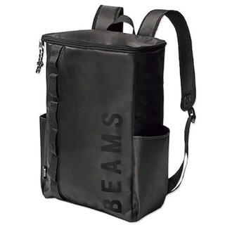 BEAMS - BEAMS ボックス型バックパック