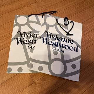 ヴィヴィアンウエストウッド(Vivienne Westwood)のショップ袋 viviene Westwood MAN 2枚セット(その他)