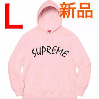 Supreme - 新品 Supreme FTP Arc Hooded Sweatshirt ピンク