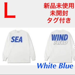 SEA - L WIND AND SEA SEA L/S T-SHIRT ロゴ ロンT 長袖