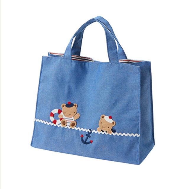 familiar(ファミリア)のファミリアバッグ ラッピング未開封 キッズ/ベビー/マタニティのこども用バッグ(レッスンバッグ)の商品写真