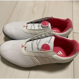 アディダス(adidas)のadidasゴルフシューズ23cm(シューズ)