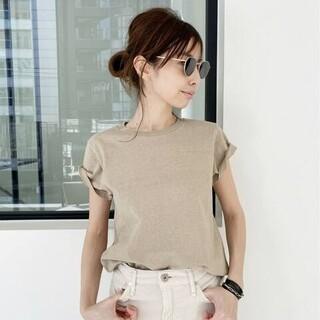アパルトモンドゥーズィエムクラス(L'Appartement DEUXIEME CLASSE)の新品L'Appartement REMI RELIEF/Compact T-sh(Tシャツ(半袖/袖なし))