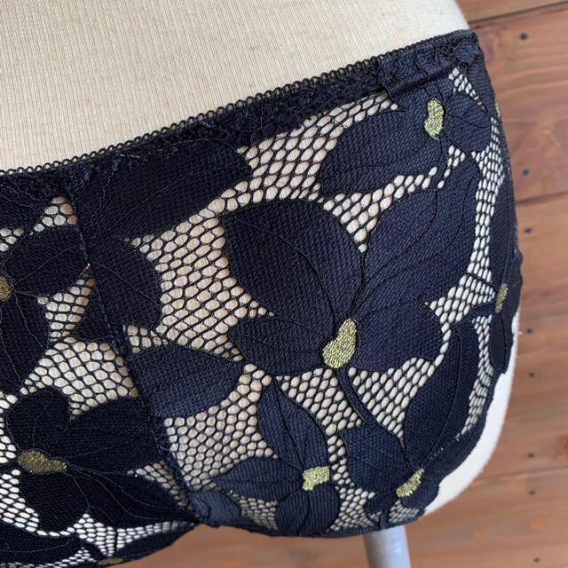 SALE 70ABC フラワー 可愛い ブラレット ブラ ショーツ ノンワイヤー レディースの下着/アンダーウェア(ブラ&ショーツセット)の商品写真