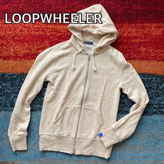 LOOPWHEELER ループウィラー コットン ジップパーカー