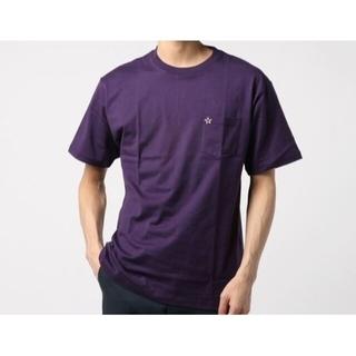 コンバース(CONVERSE)のCONVERSETOKYO Basic Pocket Tshirts 紫(Tシャツ/カットソー(半袖/袖なし))