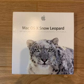 アップル(Apple)のMac OSX Snow Leopard インストールディスク(その他)