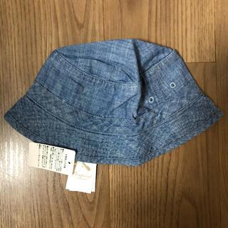 ボンポワン(Bonpoint)のBonpoint 帽子 ブルー サイズ 2(帽子)