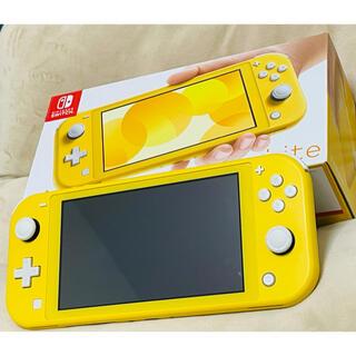 ニンテンドースイッチ(Nintendo Switch)の【中古品】ニンテンドー スイッチ ライト 本体 イエロー(携帯用ゲーム機本体)