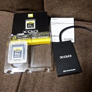 ニコン(Nikon)のニコン XQDカード 64GB カードリーダー付(その他)