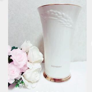 イヴ・サンローラン 花瓶 イヴサンローラン 花瓶 ysl 花瓶 ゴールド花瓶