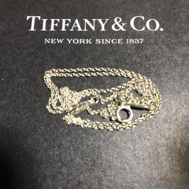 Tiffany & Co.(ティファニー)のティファニー💎ネックレス用チェーン レディースのアクセサリー(ネックレス)の商品写真