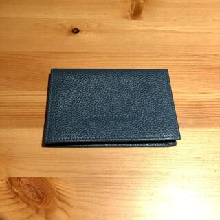 ロンシャン(LONGCHAMP)のLongchamp フローネ 名刺入れ カードケース(名刺入れ/定期入れ)