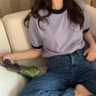 GOGOSING - 韓国ファッション♡半袖ニット
