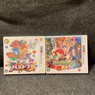 ニンテンドー3DS(ニンテンドー3DS)の任天堂3DS  「モンスターストライク」「パズドラ」 データあり、強化済み(携帯用ゲームソフト)