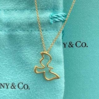 Tiffany & Co. - 最低お値引き? ティファニー ゴールド バード ネックレス