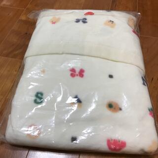 赤ちゃんの城 綿毛布と防水シーツ(毛布)