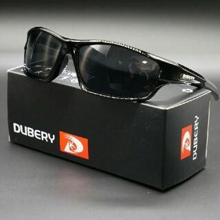 【スポーツ用】DUBERY軽量偏光サングラス ダーク オークリー・タレックス型(サングラス/メガネ)