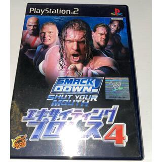 プレイステーション2(PlayStation2)のエキサイティングプロレス4 PS2 中古品(家庭用ゲームソフト)