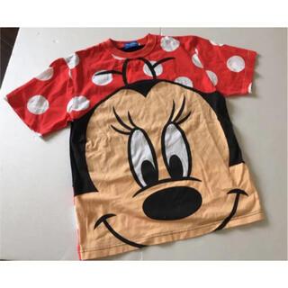 ディズニー(Disney)のdisney ミニー tシャツ 半袖 赤 m(Tシャツ(半袖/袖なし))