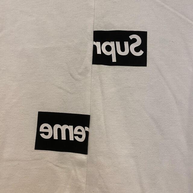 Supreme(シュプリーム)のSUPREME COMME des GARCONS SHIRT Split  メンズのトップス(Tシャツ/カットソー(半袖/袖なし))の商品写真