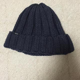ラカル(RACAL)のニット帽 ネイビー(ニット帽/ビーニー)
