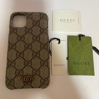 グッチ(Gucci)のGUCCI  iPhone11ケース  スマホケース(iPhoneケース)