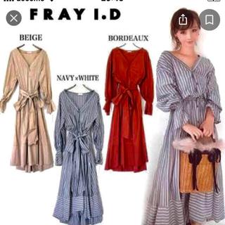 FRAY I.D - FRAY I.D  ラップリボンシャツワンピ