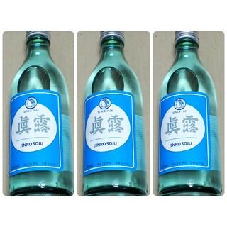 ③韓国産のお酒★眞露JINRO SOJUジンロ360ml×3個まとめ売り韓流(焼酎)