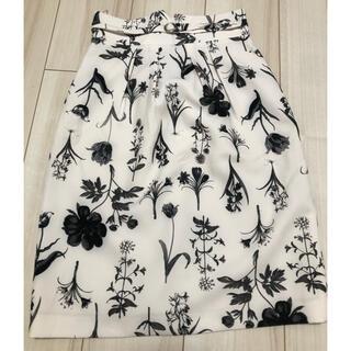 プロポーションボディドレッシング(PROPORTION BODY DRESSING)のプロポーションボディドレッシング 花柄タイトスカート(ひざ丈スカート)