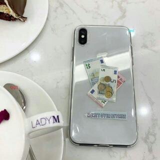 iPhonexrケース 全く新しい未使用 金の図案1(iPhoneケース)