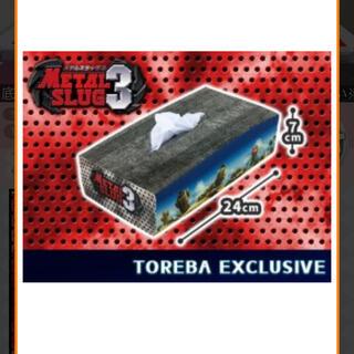 【トレバ限定】 メタルスラッグ3 ティッシュボックスカバー(ティッシュボックス)