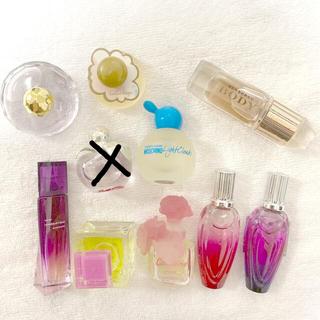 ジバンシィ(GIVENCHY)の新品レディース香水ミニボトル9個セット(香水(女性用))
